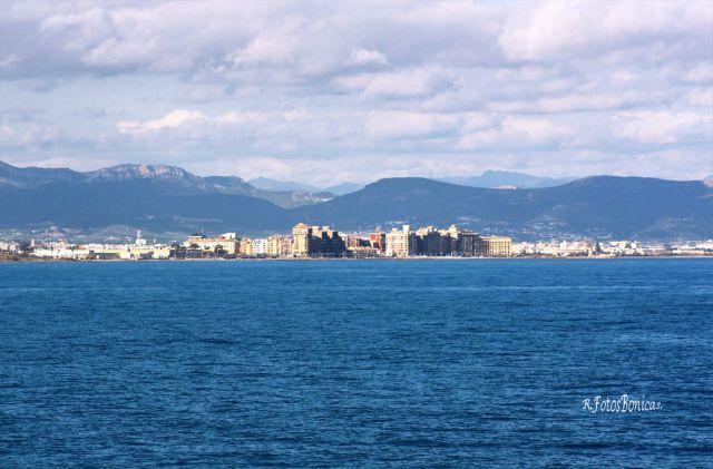 Vista desde el puerto.