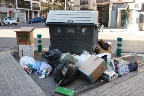 Valencia la ciudad de la basura