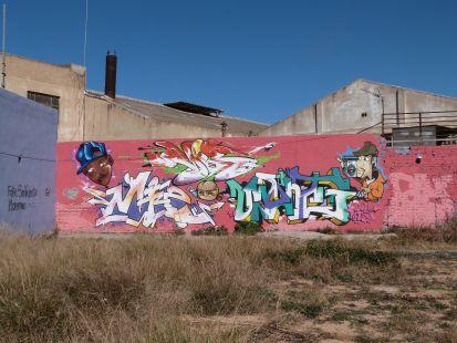 Safranar, Grafitis