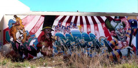 Safranar, Street Art