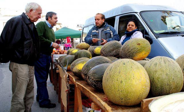 Monserrat, mercant melons