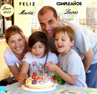 Marta y Lucas, Feliz Cumpleaños