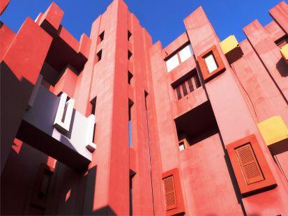 Muralla roja, Calpe, R Bofill