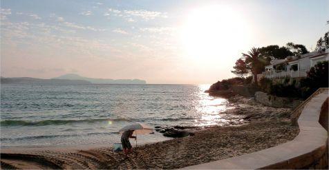 Calpe, playa de La Fossa