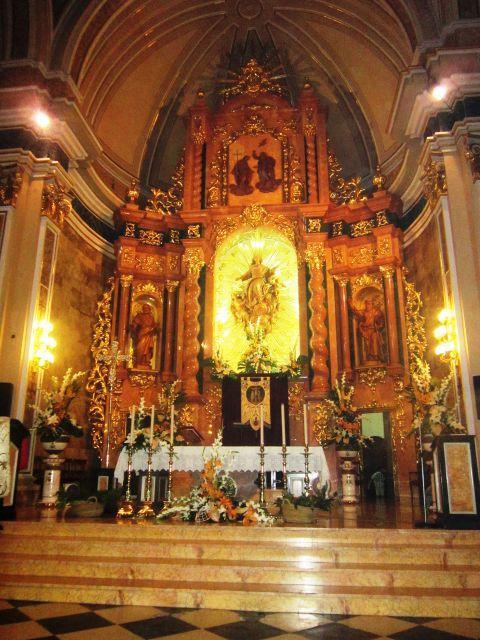 Altar Mayor, Alboraya