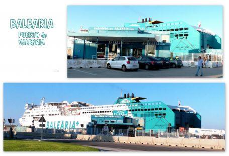 Balearia, Terminal