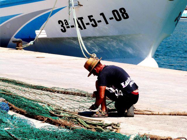 Calp, pescador