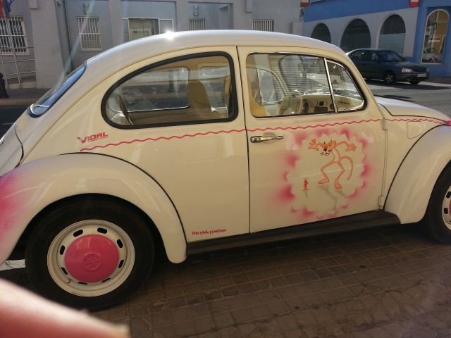 Vw escarabajo The Pink Panher