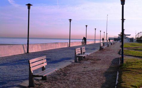las arenas, luz de invierno