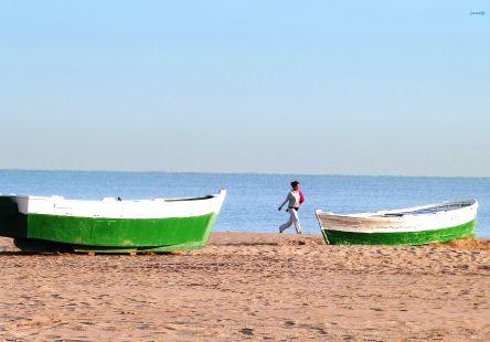 Cabañal , barcas