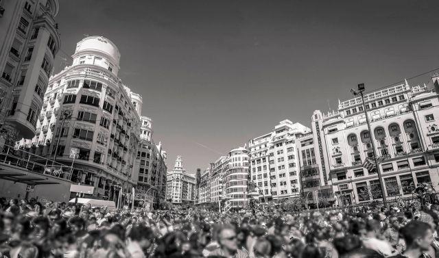 Panorámica de la Plaza del Ayuntamiento