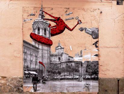 Callejeando, grafiti
