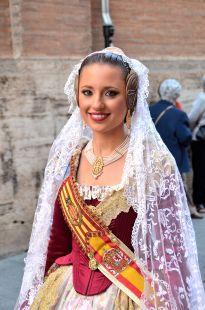 Fallera Mayor de Valencia Procesion de San Bult