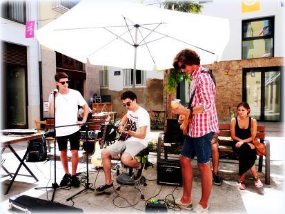 La Tapineria, musica en vivo