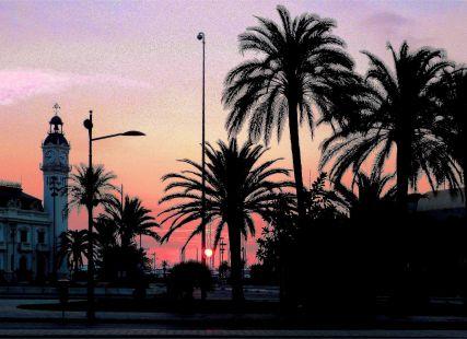 El Puerto, al alba