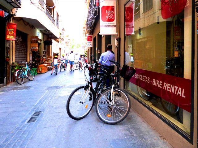 Valencia en bici